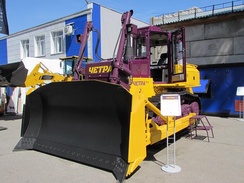 С 5 по 8 июня в Новокузнецке пройдет 25-ая Международная специализированная выставка технологий горных разработок «Уголь России и Майнинг», на которой будут представлены одни из самых востребованных моделей спецтехники отечественного бренда ЧЕТРА